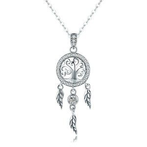 925 Sterling Silver Tree of Life Fashion Chain